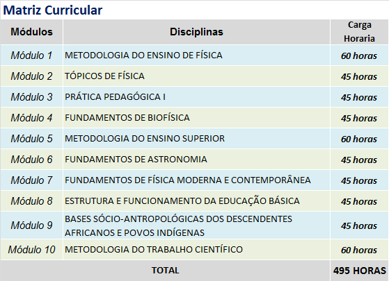 ENSINO DE FISICA matriz